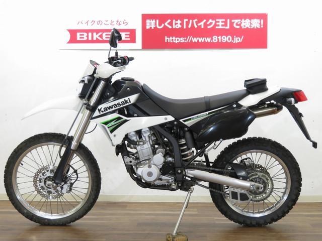 カワサキ KLX250 インジェクションモデル ナックルガード装備の画像(茨城県