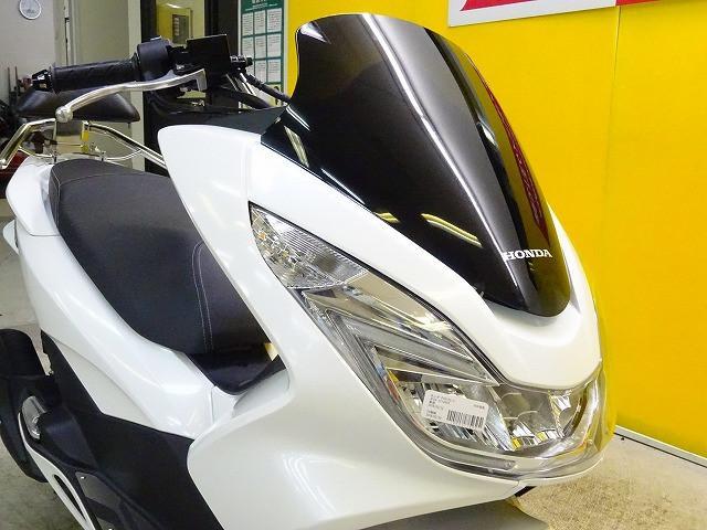 ホンダ PCX アルミステップボード バックレスト装備の画像(栃木県