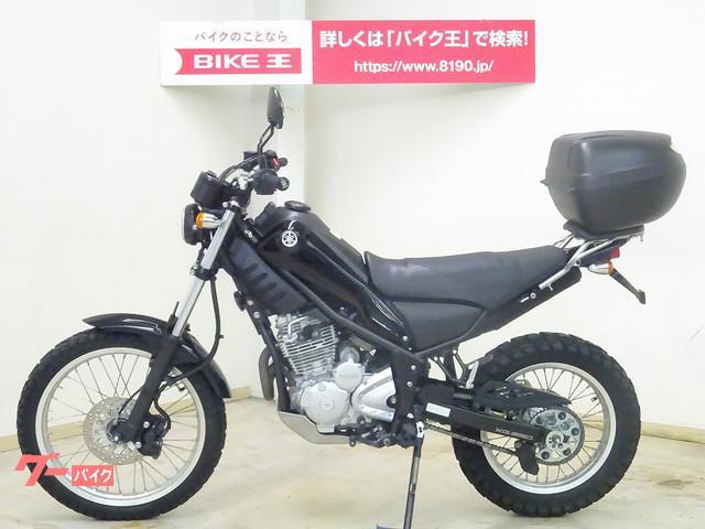 ヤマハ トリッカー リアキャリア装備 レバーカスタムの画像(千葉県