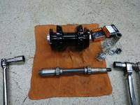 三重県 津市 アメリカン ハーレー カスタムバイク製作(自分用!笑) Showバイク ハンドメイド ジョッキーシフト 真鍮