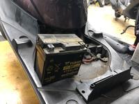 JOG バッテリー交換