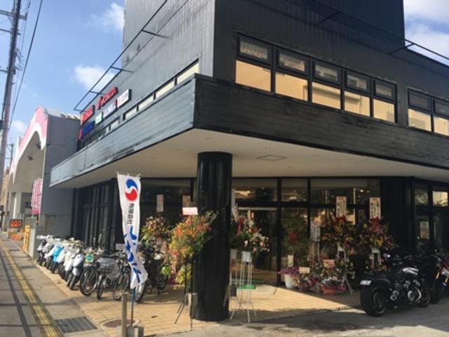 新店舗でより一層のサービス向上で沖縄のライダーを支えていきます