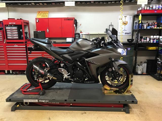 中型バイクの整備・修理・カスタムもお任せ下さい