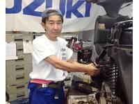 スズキのバイクの修理は私にお任せ下さい!            資格:国家2級整備士、スズキ2級整備士、検査主任