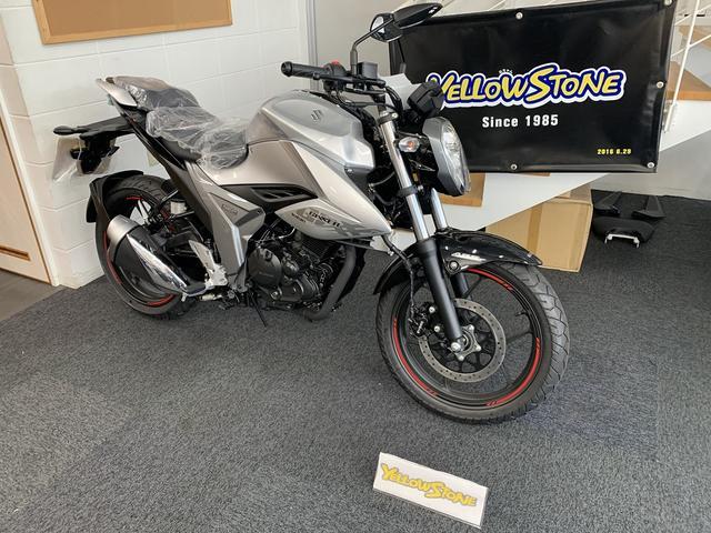 NEWバイクGSX250R!