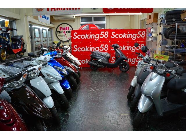 総台数30台のバイクは毎週入れ替わります。トゥデイ、ズーマー、カブはお任せ♪